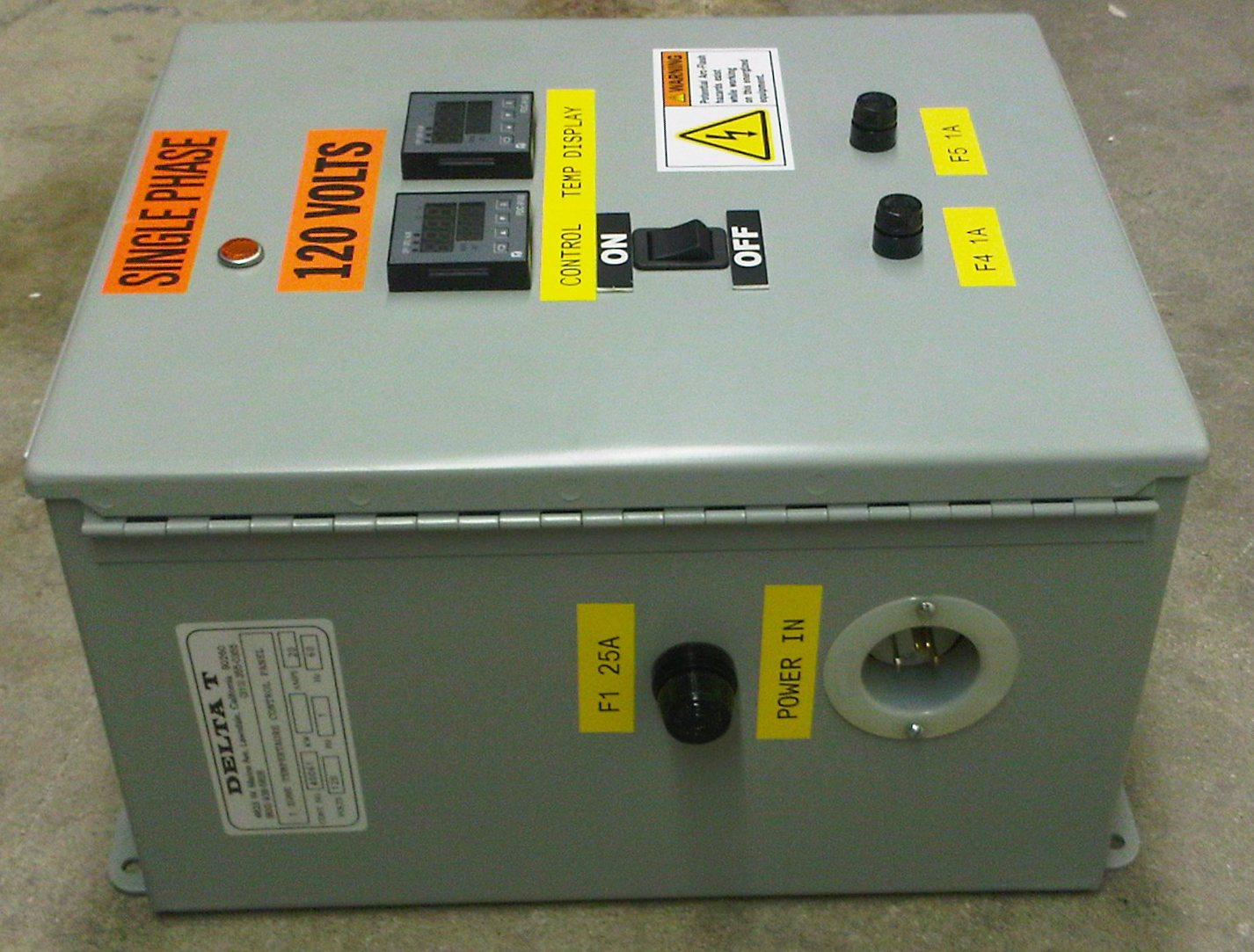 We engineer and manufacture complete control panels. All our panels  #BDB90E