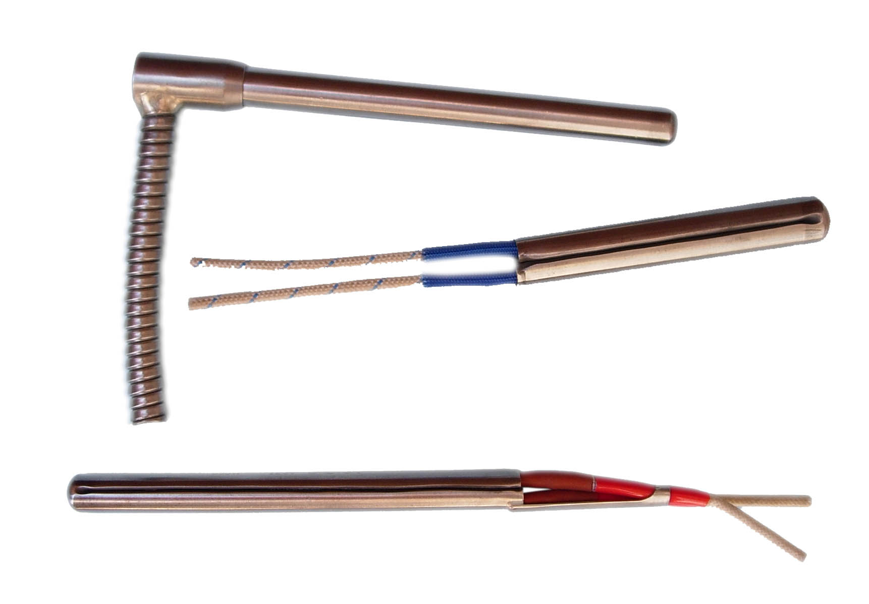 Different lead wires on Cartridge Heaters